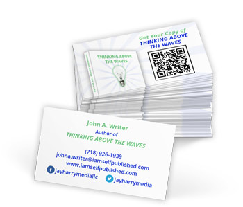 custom business cards by iamselfpublished.com
